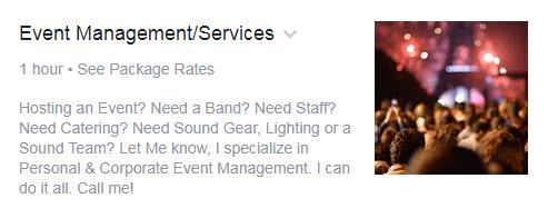 Event Services